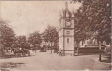 Horse & Cart At Clock Tower, RIPON, Yorkshire