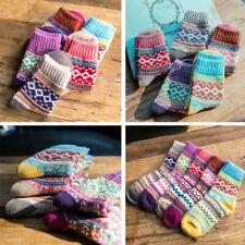 Chaussettes en laine pour femme