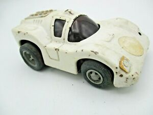 Vintage 1970s Tonka Car - White Sports Car - Metal , Made in Japan