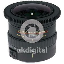 Tokina AT-X 10-17mm f/3.5-4.5 DX V Fisheye lens - CANON EF