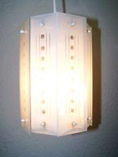 Antique Lampe À Suspension, De Verre Suspendue Cuisine, Années 50