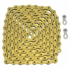 Fast Shipping YBN 12 Speed Chain 126 Link Same As SRAM PC-XX1 Eagle, Gold