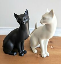 Authentic Counterpoint Cat Sculptures By Gail Ferretti Franklin Mint Originals