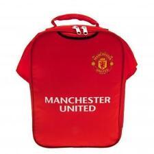 bag016) OFFICIAL Man United Shirt Shaped  School Lunch Bag Box  XMAS GIFT BNIP