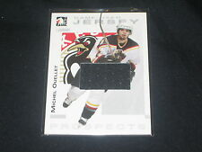 MICHAEL OUELLET ROOKIE LEGEND CERTIFIED AUTHENTIC HOCKEY GAME USED JERSEY CARD