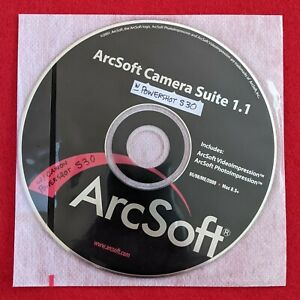 ArcSoft Camera Suite 1.1 CD-ROM 💿 Photo Video Software Windows + Mac Macintosh