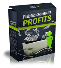 The Lazy Internet Marketer's Way To Riches - PUBLIC DOMAIN PROFITS - Succeed (CD