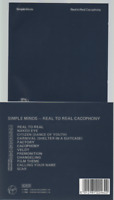 Simple Minds Real To Real Cacophony Cd Album CDV 2246 AAD pressing 1985