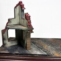 WWII Battlefield Warfare Ruins House 1/35 Scale War Military Models Kits