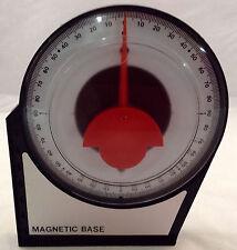 """4-1/8"""" ANGLE FINDER LEVEL MAGNETIC BASE"""