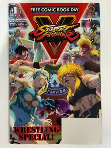 FCBD STREET FIGHTER V WRESTLING SPECIAL - FREE COMIC BOOK DAY COMIC 2017