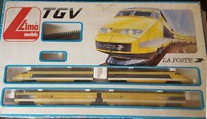 VINTAGE 80'S LIMA TECHNOLOGY TGV LA POSTE