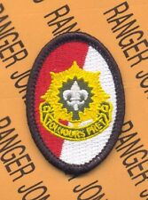 2nd Armored Cavalry Regt ACR TOUJOURS PRET w/ dui crest beret flash patch B