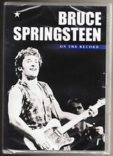 BRUCE SPRINGSTEEN - ON THE RECORD - NEW & SEALED R2 PAL DVD