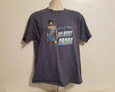 Vintage 2002 Mary J Blige No More Drama Adult Large Gray TShirt