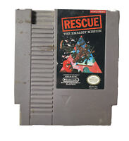RESCUE THE EMBASSY MISSION CLASSIC GAME NINTENDO NES HQ