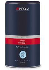 Indola Rapid + Blond Dust-Free Powder Hair BLUE Bleach 450g