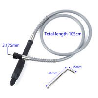 105cm Flexible Flex Shaft+M8 Keyless Chuck For Electric Grinder Rotary Tool New
