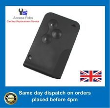 2 x NEW KEY CARD For RENAULT MEGANE SCENIC CLIO REMOTE, NEW WITH PCF7947 (R01)