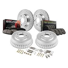 For Chevy Tahoe 95-99 Brake Kit Power Stop 1-Click Z23 Evolution Drilled &