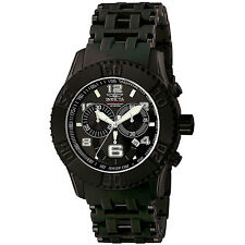 New Mens Invicta 6713 Sea Spider Black Swiss Chronograph Watch