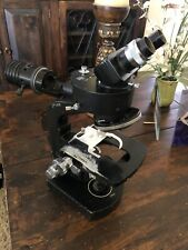 Wild Heerbrugg M20-34965 Microscope With 1.4x Vertical Illuminator And Head