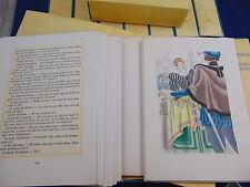 Shakespeare Oeuvres complètes eaux fortes enluminées de Maurice Leroy...