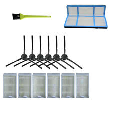 V3s Pro V3s Kit de Cepillo Lateral Filtro de Repuesto Compatible para aspiradora Robot ILIFE V5s Pro V5s V5 Paquete de 14