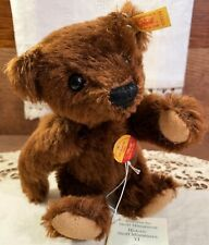 MINT with Tags Steiff Historic Miniature Jointed Teddy Bear Toy, Germany, 1994!