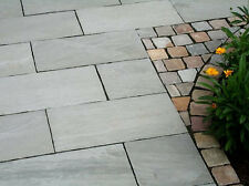 Kandla Grey Indian Sandstone Paving Slabs 900x600 Patio Flag Garden Slabs 18.5m2