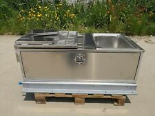 Stainless Steel Caravan Slide out Kitchen Sink Bench Camper Trailer Kitchen