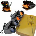 Day Night Vision Outdoor Travel Folding Binoculars Telescope+Case 30 x 60 Zoom