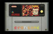 FEVER PITCH SOCCER Super Nintendo SNES Versione Italiana PAL ○○○○ SOLO CARTUCCIA