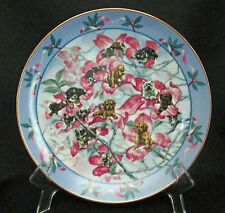 Dogwood Imaginary Gardens Plate 2nd Issue Reco Sheila Somerville Puppy Dog Tree