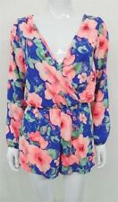 Unbranded Polyester Long Sleeve Floral T-Shirts for Women