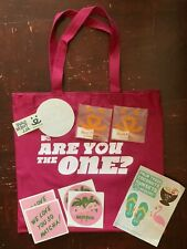 Mtv Are You The One? Hot Pink Tote Bag, Cute Stickers & Tattoos
