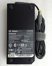 New Original OEM Lenovo 170W AC Adapter Charger ThinkPad T530/i7-3840QM Notebook