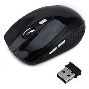 2.4GHz Wireless Optical Mouse &USB Receiver Adjustable DPI for PC Laptop Desktop