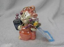 "WhimsiClay ""Trinity"", colorful religious Cat Ornament"