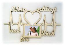 Geburtstagsgeschenk Freundin Freund Partner Schlafzimmer Wand Bilderrahmen Liebe