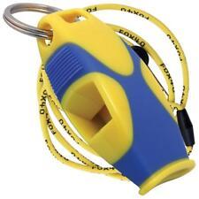 Fox 40 SHARX Marine Safety Alert Rescue Whistle YELLOW / BLUE LANYARD BEST VALUE
