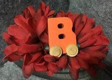 Maple Landmark Name Train Nametrain Letter B Magnetic Alphabet fits Brio Thomas