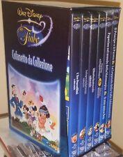 6 DVD LE FIABE DISNEY COFANETTO DA COLLEZIONE VINTAGE