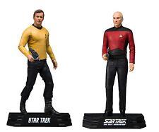 "Star Trek Captain Picard & Captain Kirk 7"" Action Figures McFarlane IN STOCK"