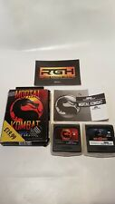 MORTAL KOMBAT 1 + 2 SEGA GAME GEAR GAMES TESTED WORKING