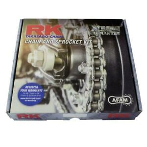 RK Xtreme Upgrade chain and sprocket Kit Honda CB125R CBF125N 18/19