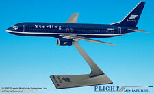 Flight Miniatures Sterling Airlines European Boeing 737-800 1:200 Scale Dk Blue