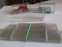 50 x Klarsichtschachteln 5 verschiedene Größen für LKW Sattelzüge Hängerzüge