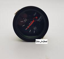 52MM Amperometro Gauge 80 - 0 - 80 con bezzle Nero