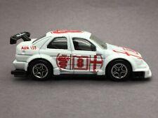 Matchbox Motor Sports Alfa Romeo 155 White Die Cast 1/60 Scale Loose #62